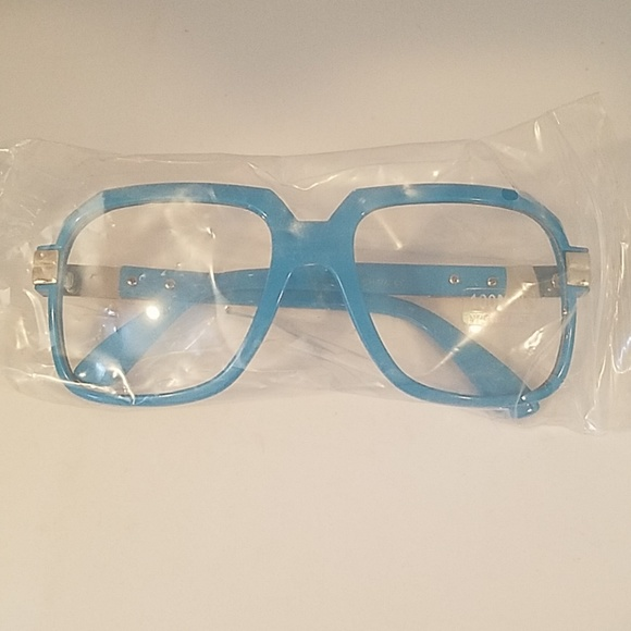 Other - Blue farmer clear lens glasses new